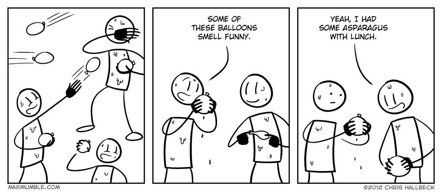 #437 – Ballooned
