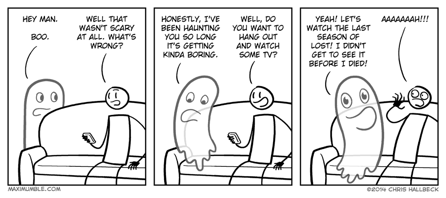 #865 – Haunting