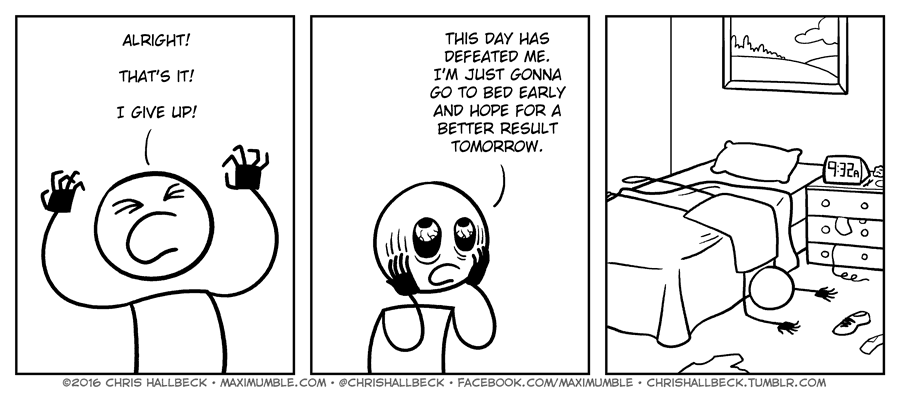 #1322 – Give up