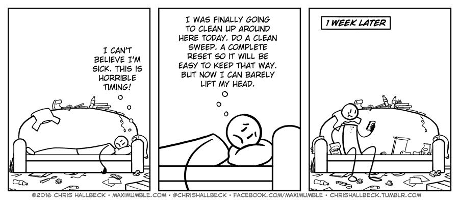 #1418 – Sick