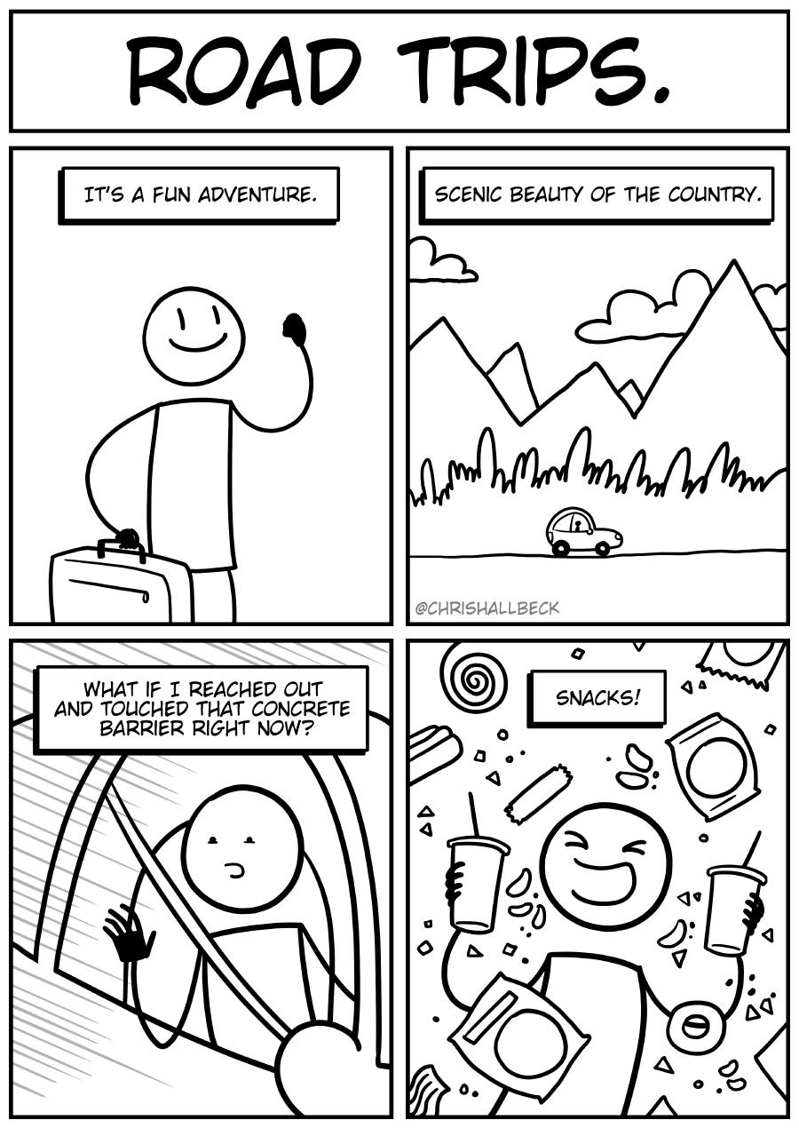 #1559 – Road trips