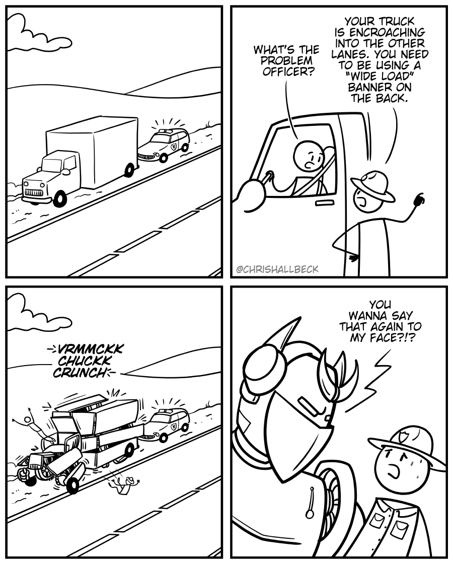 #1649 – Pulled over