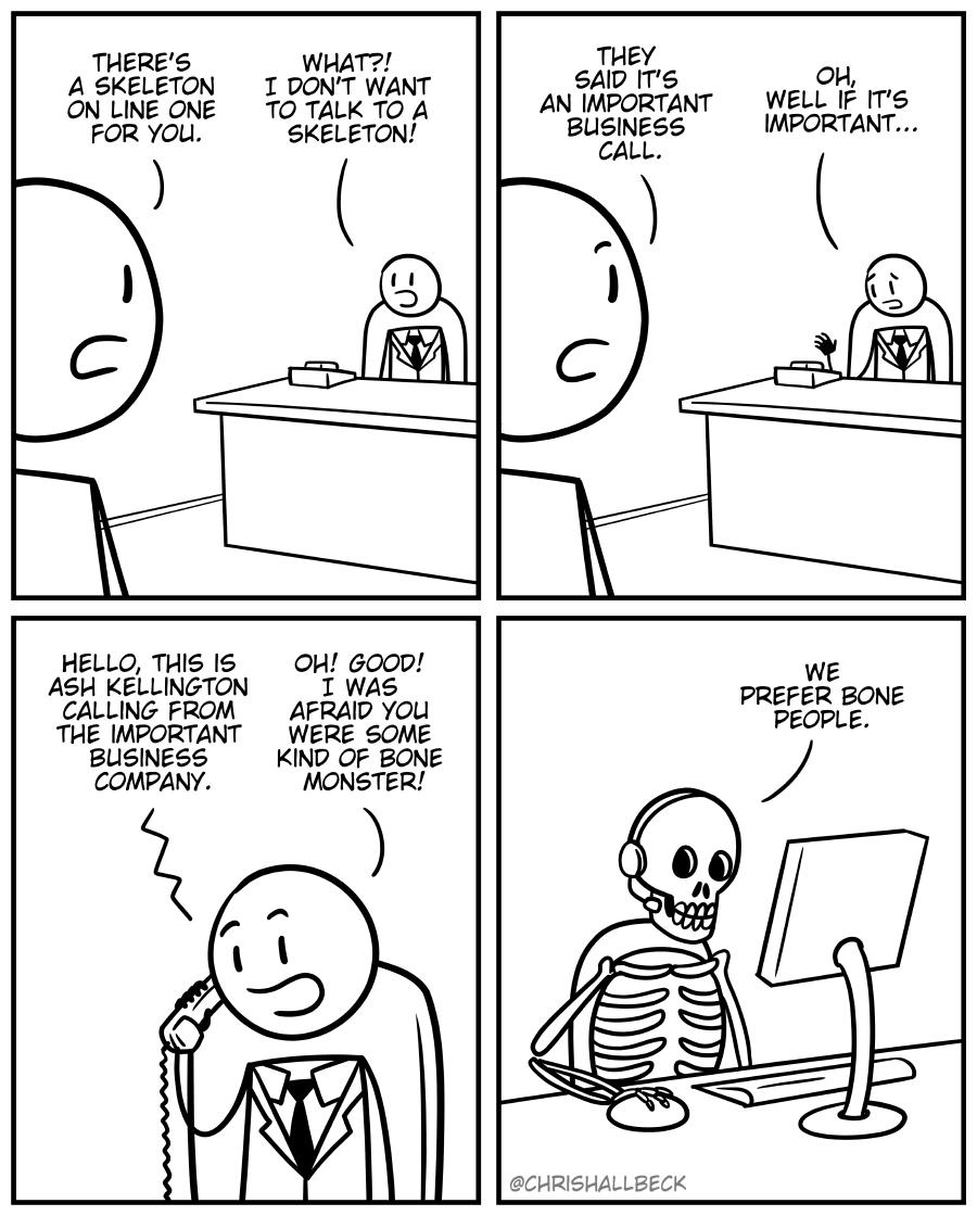 #1816 – Skeleton