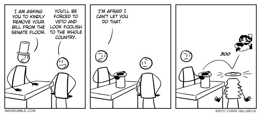 #261 – Vetoed