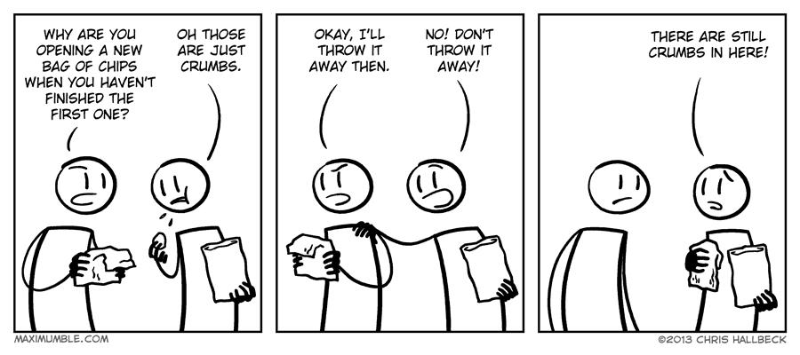 #648 – Crumbs