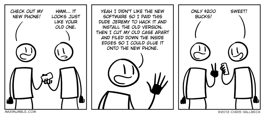 #674 – Upgrade