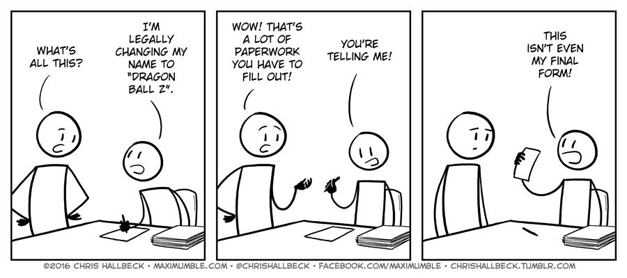1290 – Paperwork