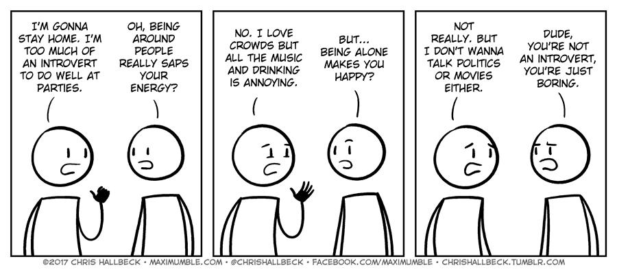 #1496 – Introvert