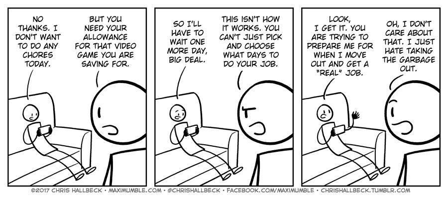 #1502 – Chores