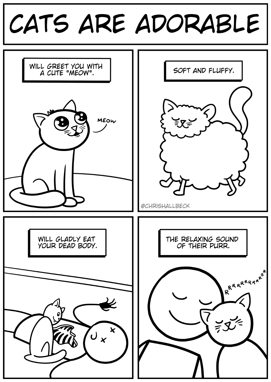 #1565 – Cats are adorable