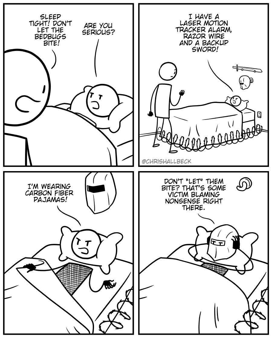 #1657 – Bedbugs